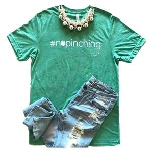 Tops - #nopinching graphic tee